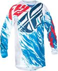 NEW FLY Racing Red white blue RELAPSE Jersey motocross off road ADULT honda