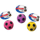 ETHICAL SPOT FIBER LATEX SOCCER BALL DOG TOY U PICK COLOR. FREE SHIP IN THE USA