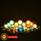 New Modern Colorful Glass Bubble LED Pendant Light Chandelier Ceiling Lamp Light
