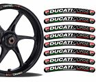 8 DUCATI CORSE WHEEL RIM VINYL STICKERS STRIPES MOTO CAR MOTORCYCLE TUNING RV10