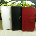 Fashion Magnetic Wallet Holder flip case cover For Alcatel Mobile Phone