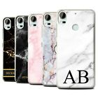 Personalised Custom Marble Phone Case for HTC Desire 10 Pro/Initial Cover