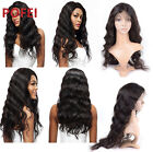 360 Lace Wigs For Black Women 100% Brazilian Hair Loose Body Wave 180% Density