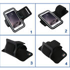 For Apple iPhone 6 6 Plus Sports Running Jogging Armband Case Cover Holder Black