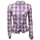 C4722 camicia donna TOMMY HILFIGER DENIM shirt woman