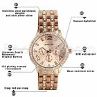2017 Luxury Women's Men Fashion Watch Stainless Steel Band Quartz Wrist Watches image