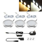 LE LED Under Cabinet Lighting Kit 510lm Kitchen Counter Closet Puck Lights 3pack