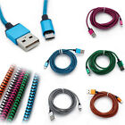 Fabric Braided Strong USB-C USB 3.1 Type C Data Charger Cable for Various Phones