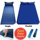 Outdoor Camping Air Mattress Sleeping Pad Picnic Inflatable Tent Patio Pillow