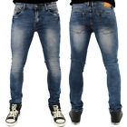 Sreetwear Ace Low Skinny Stretch Denim Jeans Stone Wash B120