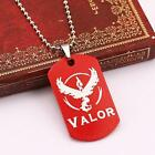 New Pokemon Go Team Valor Instinct Mystic Necklace Two-Sided Alloy Pendant