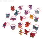 10/50Pcs Wholesale Mixed Lots Cute Cartoon Children/Kids Resin Rings Jewelry