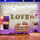 "Metal LED 12"" Rustic Vintage Style Marquee Lights LED Letters Wedding LOVE Shape"