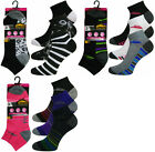 6 Pairs Ladies Pro-Hike Performance Sport Trainer Liner Socks Adults 4-8
