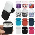 For Apple AirPods Case Protective Silicone Shockproof Charging Cover Hang Pouch