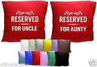 """Reserved For ...  Cushion Covers 40cm x 40cm (16"""")"""