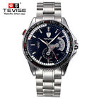 TEVISE Mens Automatic Mechanical Waterproof Stainless Steel Calendar Wrist WatchWristwatches - 31387
