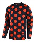Troy Lee Designs 2018 GP Air Polka Dot Navy Orange Race Jersey Shirt Motocross