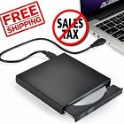 External DVD Drive Combo Player CD-RW Burner USB 2 Win 2000 XP 7 8 10 Portable