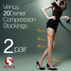 -2 pairs- (Free shipping) Venus 20 denier compression stockings/panty hose/korea