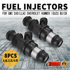 Pop 8X28lb High Impedance Fuel Injectors For GMC Cadillac Chevrolet 5.3L Look