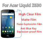 3pcs For Acer Liquid Z630 Protect Eye Anti Blue Ray,Anti Explosion Screen Film