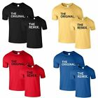 The Original and The Remix T-Shirt Dad Son Daughter Baby Birthday Gift T Shirt