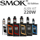 SMOK Authentic 220W TC Mod Alien Kit E Cigarette Shisha TFV8 Baby Tank + Coils