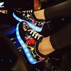 LED Night Light Up Couples Men Women Sport casual Lace Up Shoes Sneakers Fashion