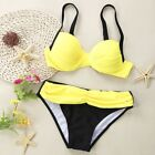 Sexy Womens Two-Piece Swimwear Bikini Swimming Beach Swimsuit for Ladies