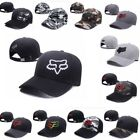 Fashion Fox Racing Mens Guys Boxed Snapback Trucker Hat Hip-Hop Adjustable Cap