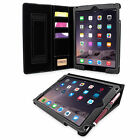"Snugg Executive Leather Case Cover New iPad 2017 9""7  Magnetic Auto Wake"