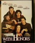 With Honors (DVD, 1999) Patrick Dempsey, Brendan Fraser FREE SHIPPING!