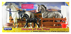 Toy Horse Set Breyer Classics Heroes of the West For Kids Ages 4 and Up 6 Pieces