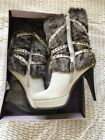 Bakers Attitude Fur Boots Woman's Size 9.0 New In Box Beautiful 65-ice