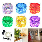 Corded Adapter 10M 20M 30M  Indoor LED Copper Fairy String Lights Holiday Lights