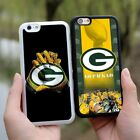Green Bay Packers Logo NFL Soft Rubber Case Cover For iPhone 5/5s SE 6s 7 Plus
