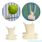 Small Large Size Plastic Pet Hamster Bird Fruit Food Fork Holder Cage Accessory