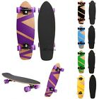"27"" Cruiser Style Skateboard Wooden Deck Skate Board Frosting Unisex New image"
