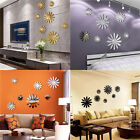 Mirror Floar Art Vinyl Removable Wall Sticker Acrylic Decal Home Decor DIY USA