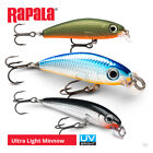Rapala Ultra Light Minnow Lures - Pike Perch Zander Bass Wrasse Fishing Tackle
