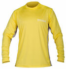 Stormr Mens L/S UV Shield Shirt Yellow Polyester 50+ Wicking