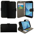 For SAMSUNG GALAXY J3 2017 - Wallet Leather Case Flip Cover + Screen Protector <br/> FREE SCREEN GUARD * NEW UK DESIGN STOCK * HIGH QUALITY