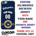 Milwaukee Brewers Baseball Jersey Phone Case personalized for Samsung etc