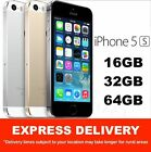 AS NEW iPHONE 5S 16GB, 32GB, 64GB ALL COLOURS UNLOCKED 100% GENUINE MR EXPRESS