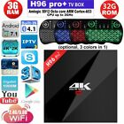 H96 Pro+ 4K Android 6.0 Amlogic S912 Octa Core 3GB 32GB Dual WiFi Smart TV Box