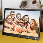 "15"" HD LED Digital Photo Frame Picture Album Clock Calendar Movie Player LOT DS"