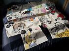 Bnwt Full Complete Set Of Disney Canvas Tote Bag Limited Edition 14 Bags