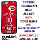 Cincinnati Reds Baseball Jersey Phone Case personalized for Samsung etc