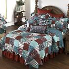 Abilene Patch Donna Sharp Cotton Quilted Patchwork Country Bedroom Quilt